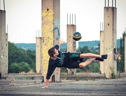 Footbag & Freestyle fotbal Show