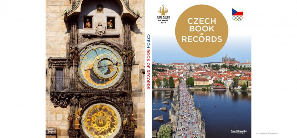 Přebal Czech Book of Records